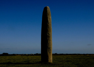 Menhire der Bretagne, größte Menhire, Kergadiou