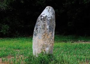 Menhire der Bretagne, kleinste Menhire, Hautes Landes